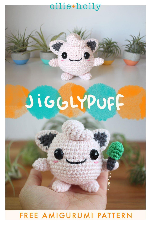 Free Jigglypuff Amigurumi Crochet Pattern Pinterest