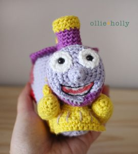 The Simpsons I Choo Choo Choose You Amigurumi Crochet Pattern