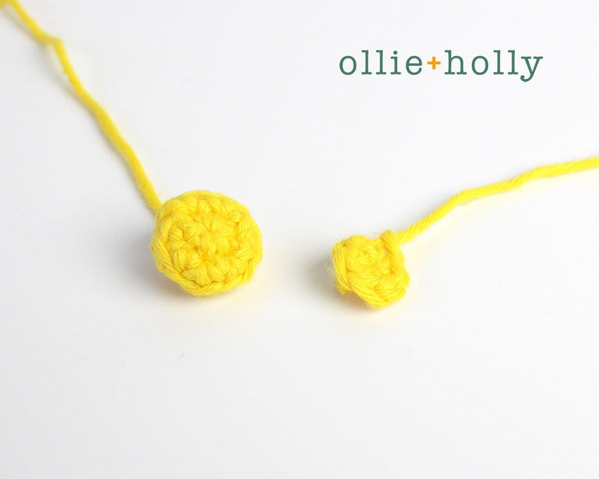Free Chinese Lantern Ornament Amigurumi Crochet Pattern Step 2