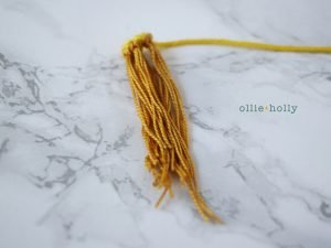Free Chinese Lantern Ornament Amigurumi Crochet Pattern Step 4