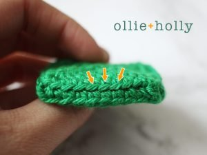Free Toronto Green Bin Amigurumi Crochet Pattern Step 4