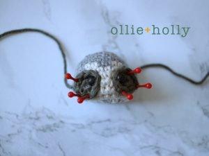 Free Toronto Raccoon Amigurumi Crochet Pattern Step 11