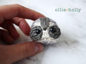 Free Toronto Raccoon Amigurumi Crochet Pattern Step 12