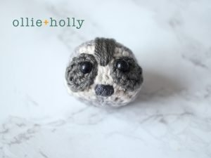 Free Toronto Raccoon Amigurumi Crochet Pattern Step 13
