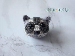 Free Toronto Raccoon Amigurumi Crochet Pattern Step 15