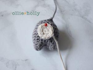 Free Toronto Raccoon Amigurumi Crochet Pattern Step 16