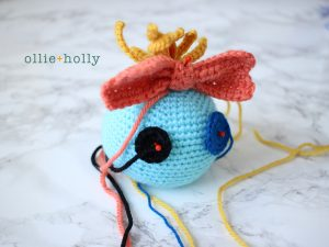 Free Disney Scrump Doll Amigurumi Crochet Pattern (Lilo & Stitch) Step 13