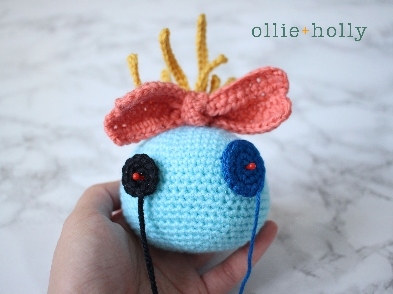 Free Disney Scrump Doll Amigurumi Crochet Pattern (Lilo & Stitch) Step 15
