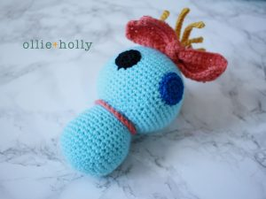Free Disney Scrump Doll Amigurumi Crochet Pattern (Lilo & Stitch) Step 15