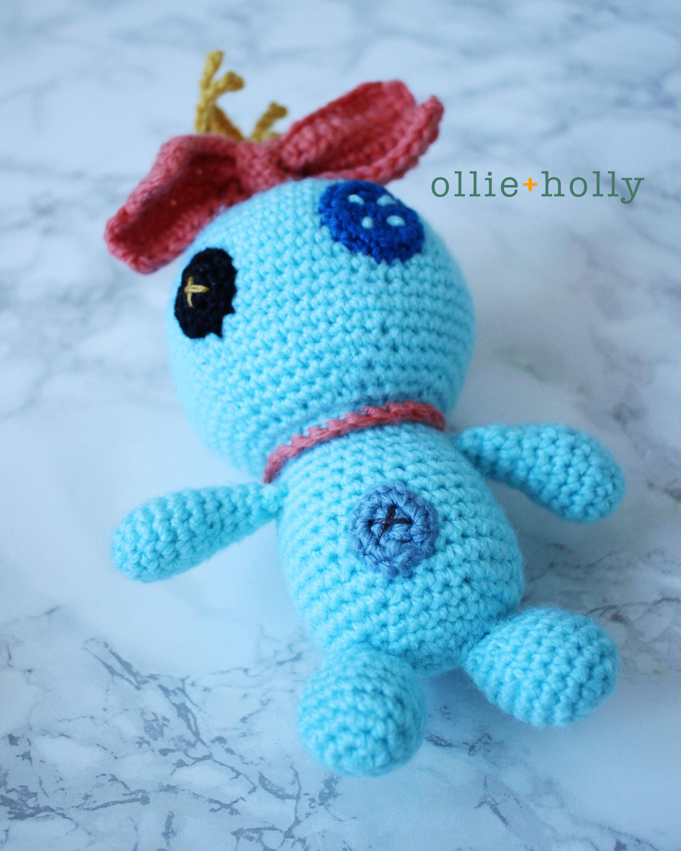 Free Disney Scrump Doll Amigurumi Crochet Pattern (Lilo & Stitch) Step 18