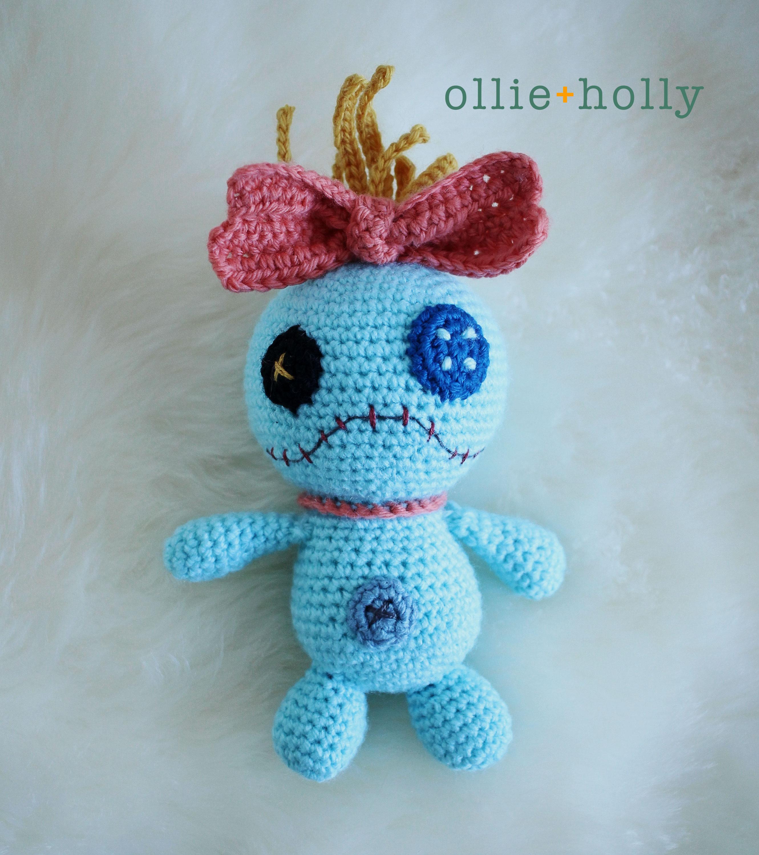 Free Disney Scrump Doll Amigurumi Crochet Pattern (Lilo & Stitch)
