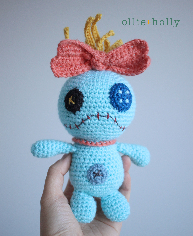 Free Disney Scrump Doll Amigurumi Crochet Pattern (Lilo & Stitch) Complete