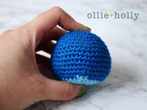 Free Disney Lilo & Stitch Amigurumi Crochet Keychain/Bag Charm Pattern Step 1