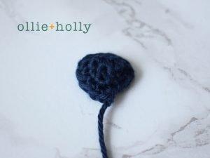 Free Disney Lilo & Stitch Amigurumi Crochet Keychain/Bag Charm Pattern Step 2