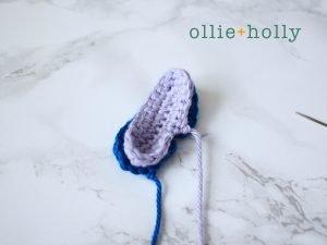 Free Disney Lilo & Stitch Amigurumi Crochet Keychain/Bag Charm Pattern Step 7