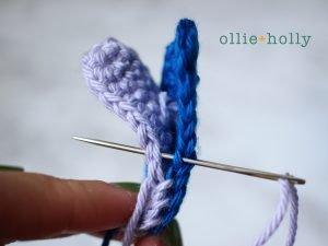Free Disney Lilo & Stitch Amigurumi Crochet Keychain/Bag Charm Pattern Step 8