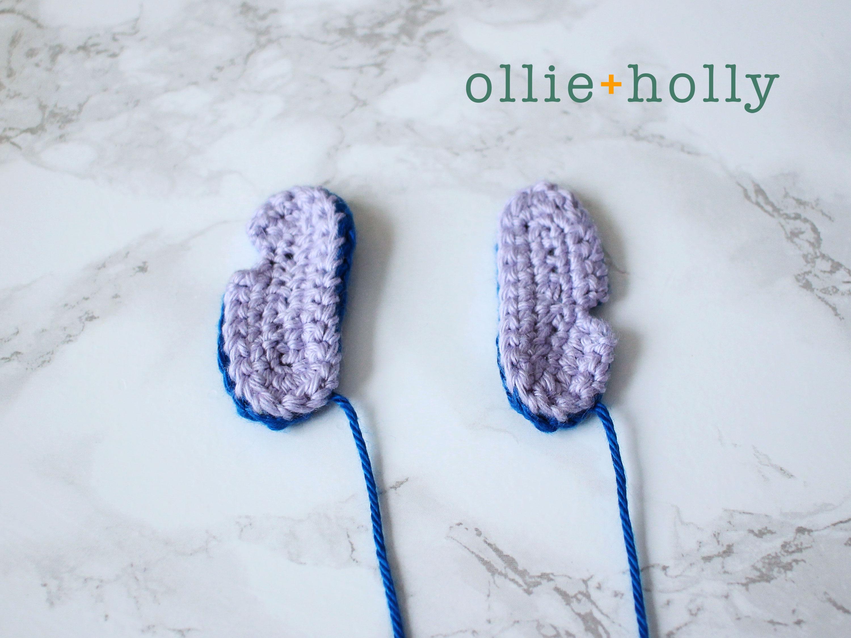 Free Disney Lilo & Stitch Amigurumi Crochet Keychain/Bag Charm Pattern Step 9