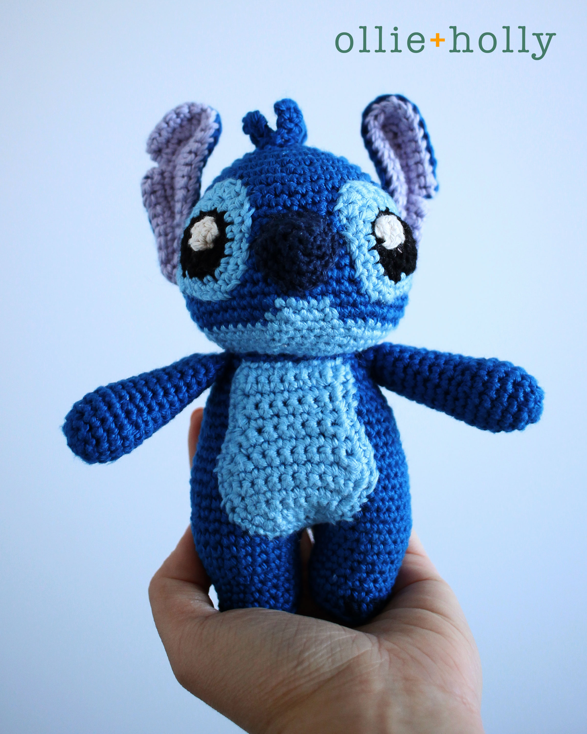 Lilo and Stitch Amigurumi Crochet Pattern Notes On Hand