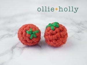 Amigurumi Crochet Cherry Tomatoes