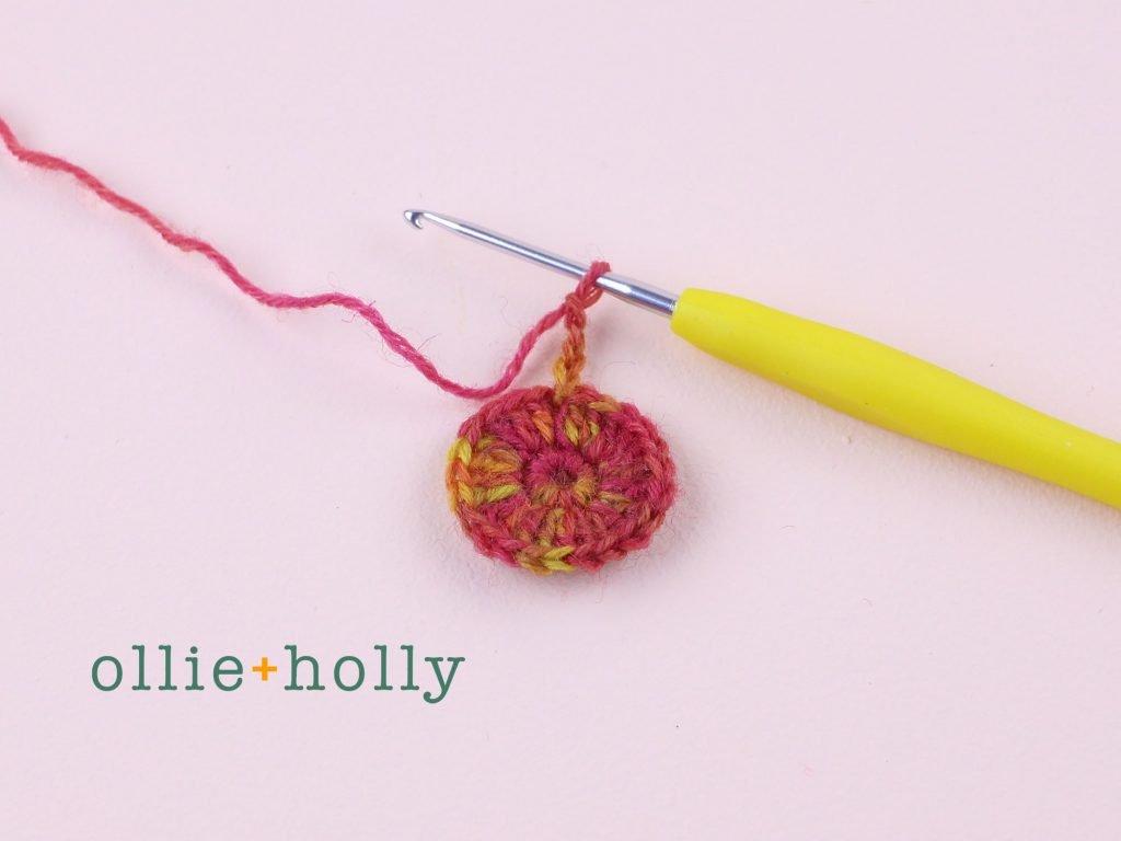 Free Crochet Grocery Produce Bag Pattern Step 2
