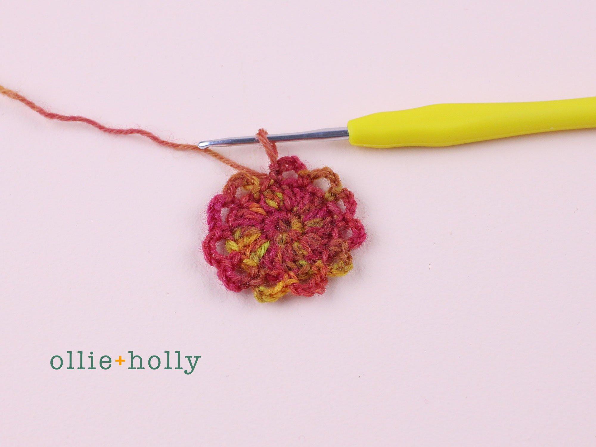Free Crochet Grocery Produce Bag Pattern Step 4