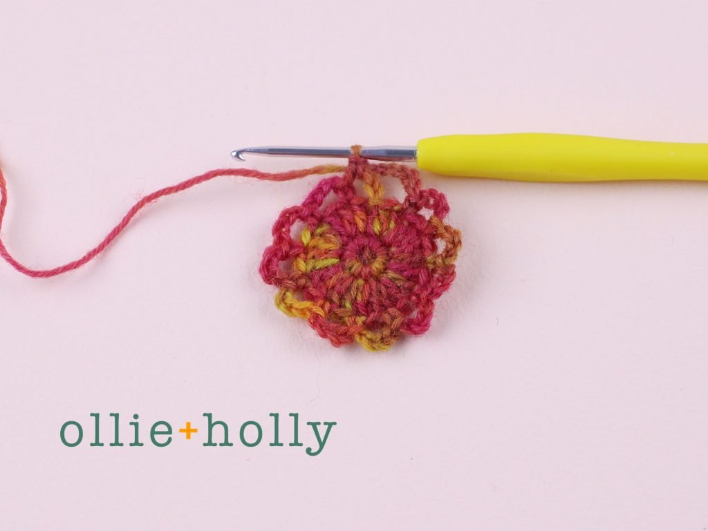 Free Crochet Grocery Produce Bag Pattern Step 6