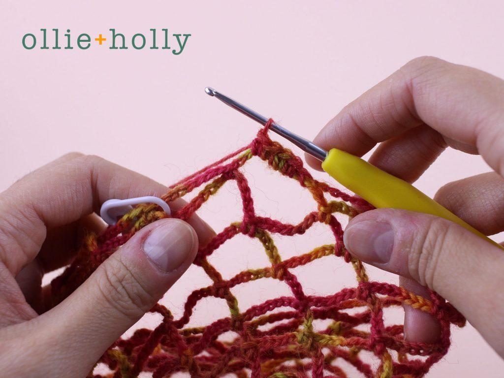 Free Crochet Grocery Produce Bag Pattern Step 9