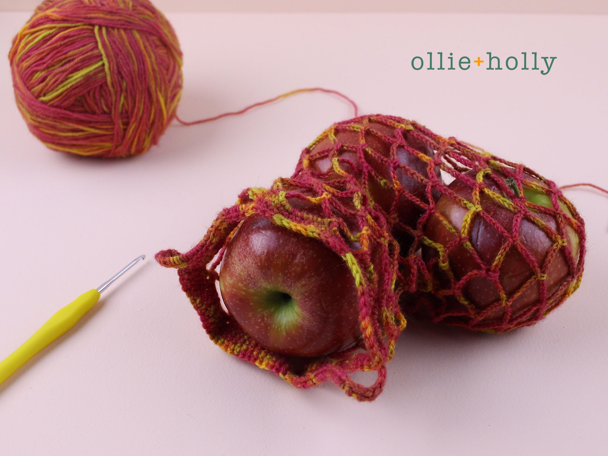 Free Crochet Grocery Produce Bag Pattern Complete
