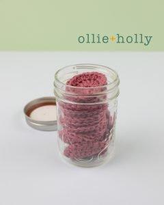 Crochet Reusable Makeup Remover Cotton Pads