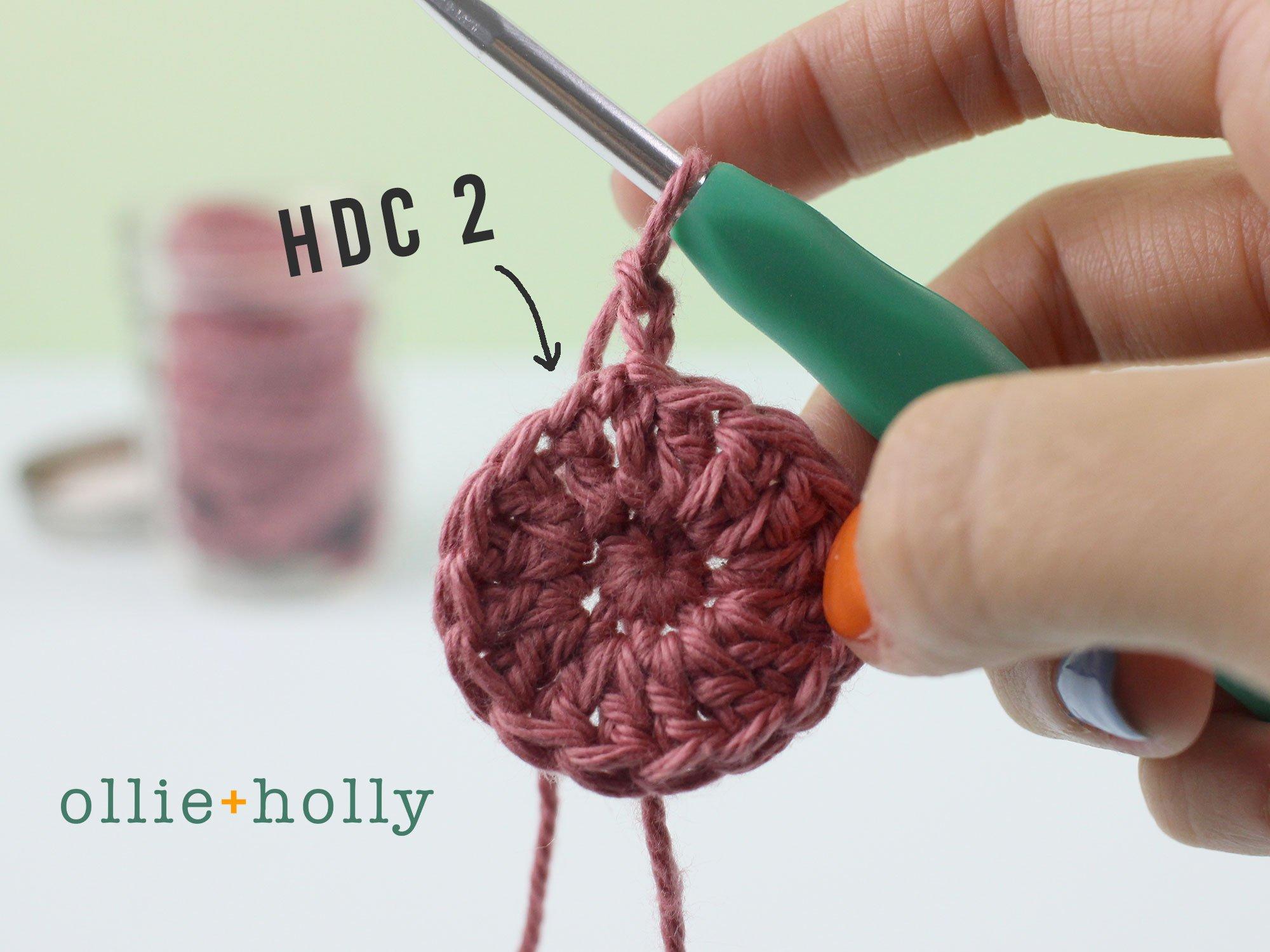 Free Reusable Cotton Pads Crochet Pattern Step 4