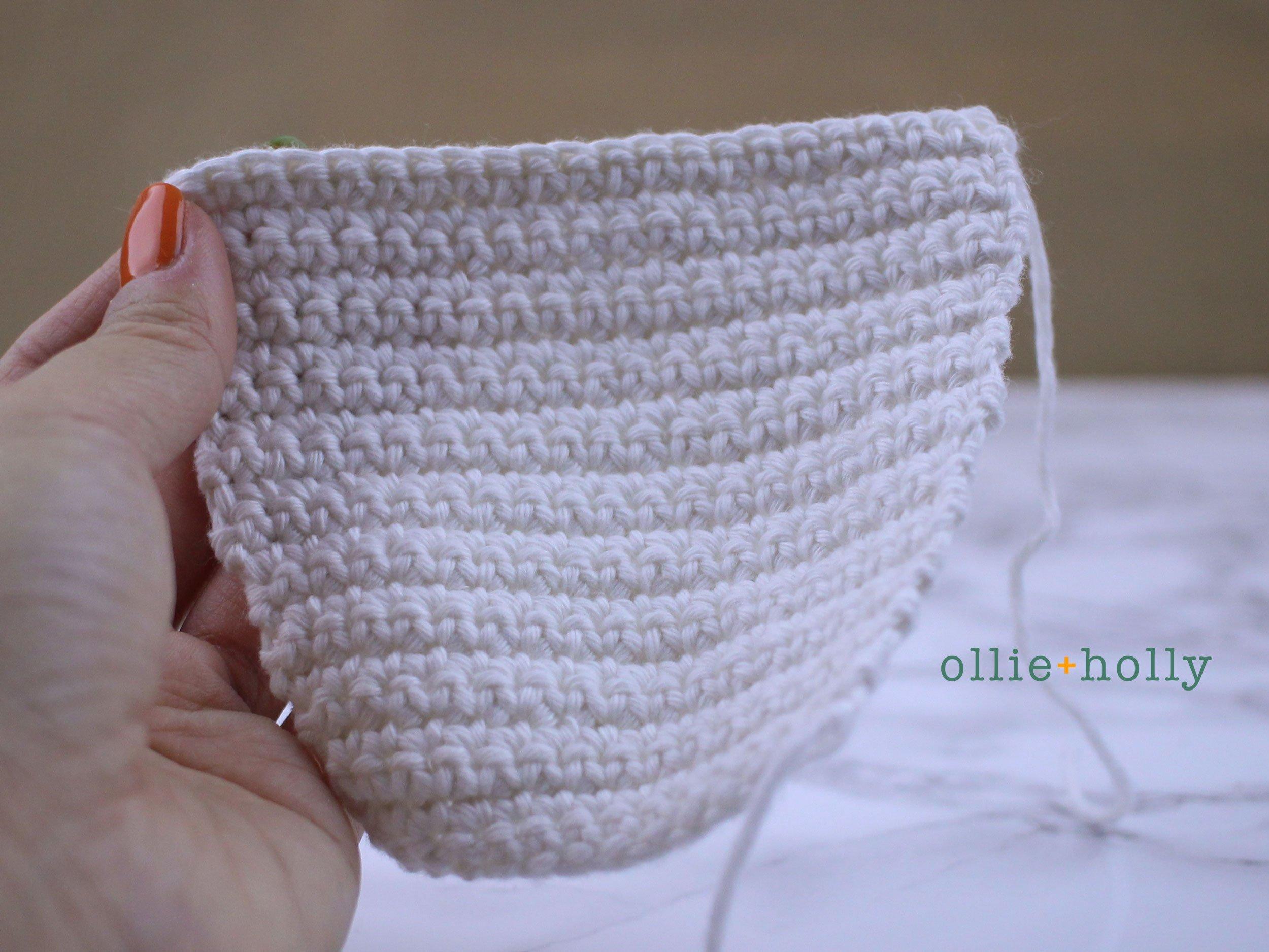 Free Ketchup Bottle Pillow Amigurumi Crochet Pattern Step 2