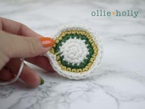 Free Ketchup Bottle Pillow Amigurumi Crochet Pattern Step 1