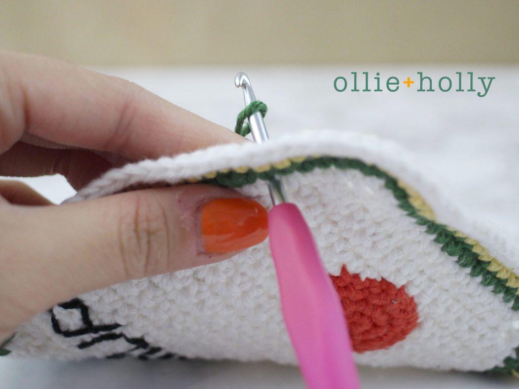 Free Ketchup Bottle Pillow Amigurumi Crochet Pattern Step 11