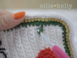 Free Ketchup Bottle Pillow Amigurumi Crochet Pattern Step 13