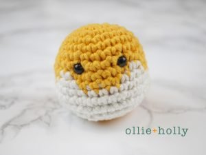 Free Shiba Inu Amigurumi Crochet Pattern Step 1