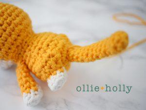 Free Shiba Inu Amigurumi Crochet Pattern Step 14