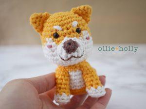 Ollie Holly Free Shiba Inu Amigurumi Crochet Pattern