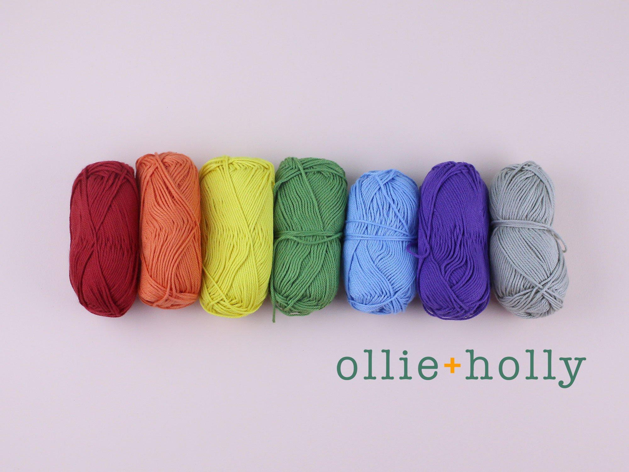 Ollie Holly Knitpicks Shine Sport Yarn