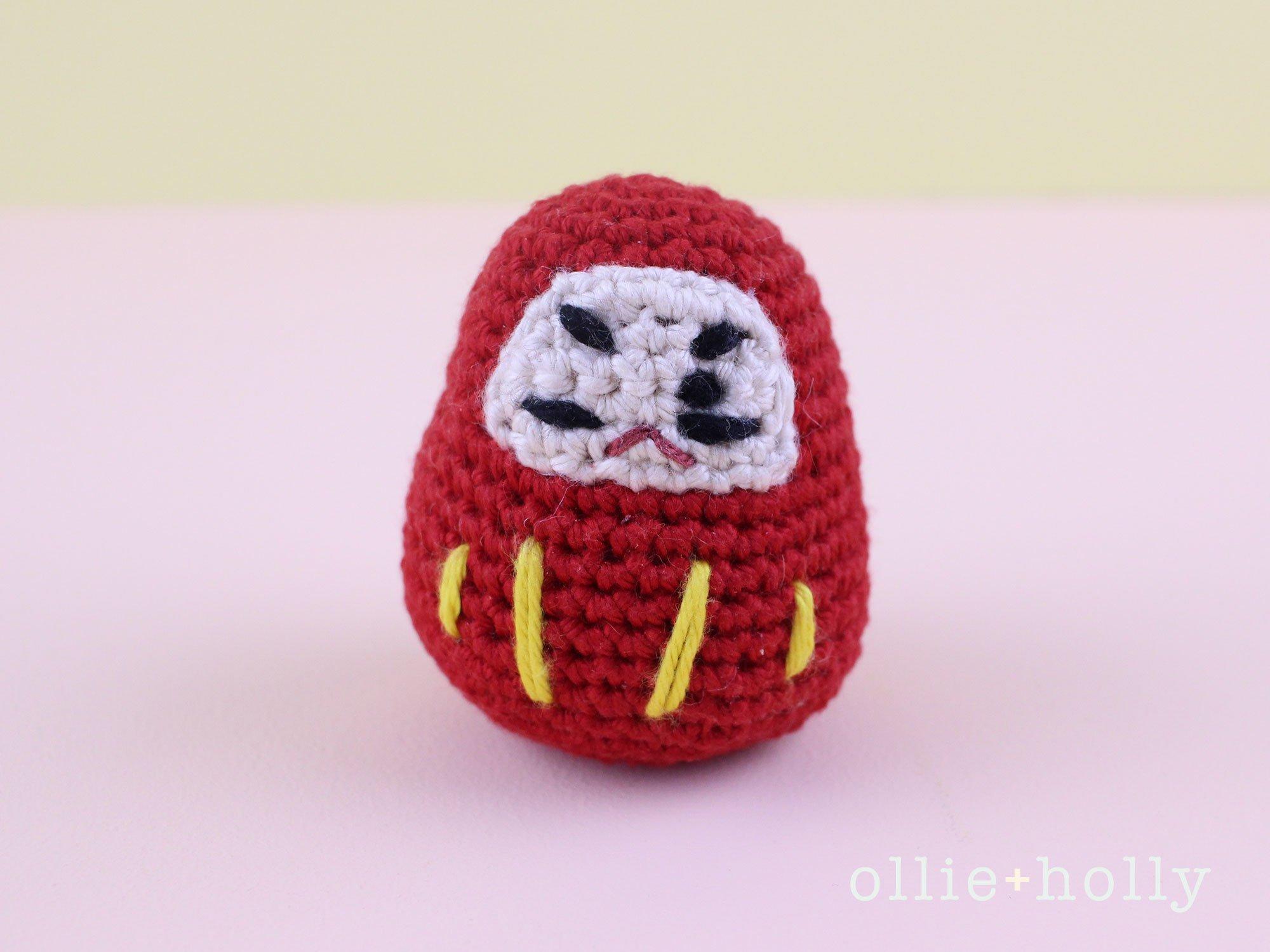 Free Daruma Amigurumi Crochet Pattern Complete