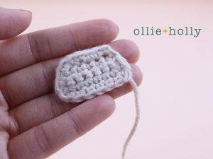 Free Daruma Amigurumi Crochet Pattern Step 2