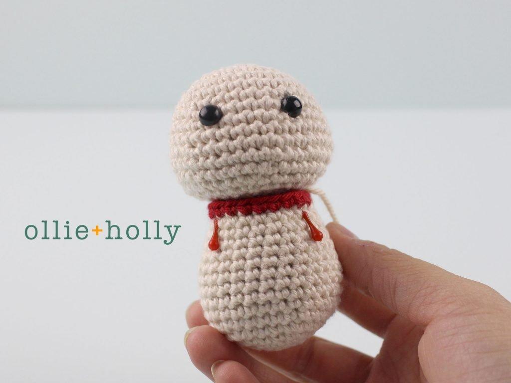 Free Maneki Neko Lucky Cat Amigurumi Crochet Pattern Step 13