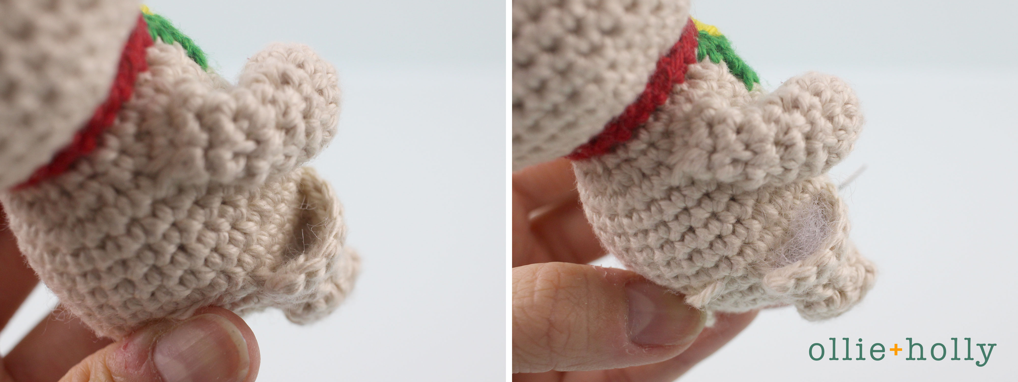 Free Maneki Neko Lucky Cat Amigurumi Crochet Pattern Step 17