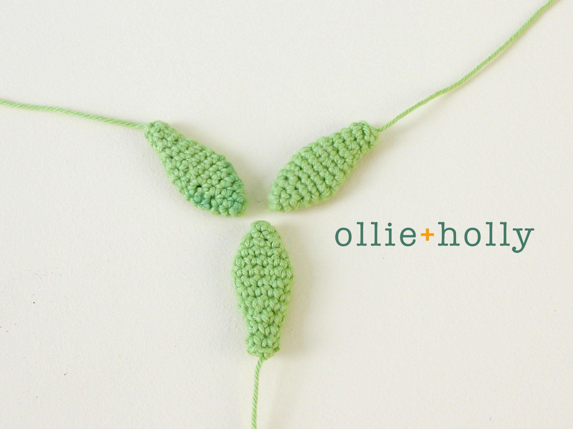 Free Sedum Adolphii Succulents (Golden Glow) Amigurumi Crochet Pattern Step 2