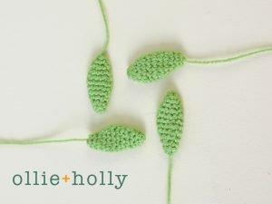 Free Sedum Adolphii (Golden Glow) Succulents Amigurumi Crochet Pattern Step 3
