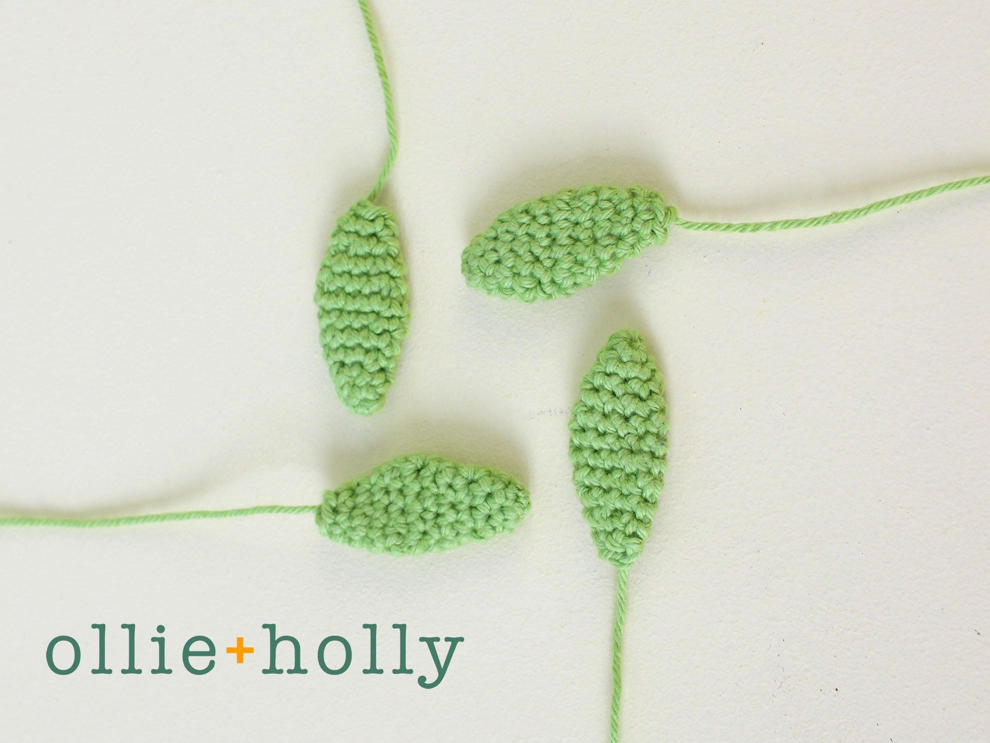 Free Sedum Adolphii Succulents (Golden Glow) Amigurumi Crochet Pattern Step 3