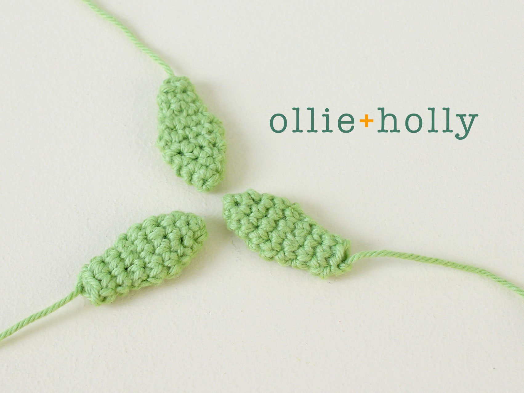 Free Sedum Adolphii Succulents (Golden Glow) Amigurumi Crochet Pattern Step 5