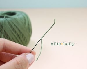 Free Billy Balls Flower Crochet Pattern Step 2