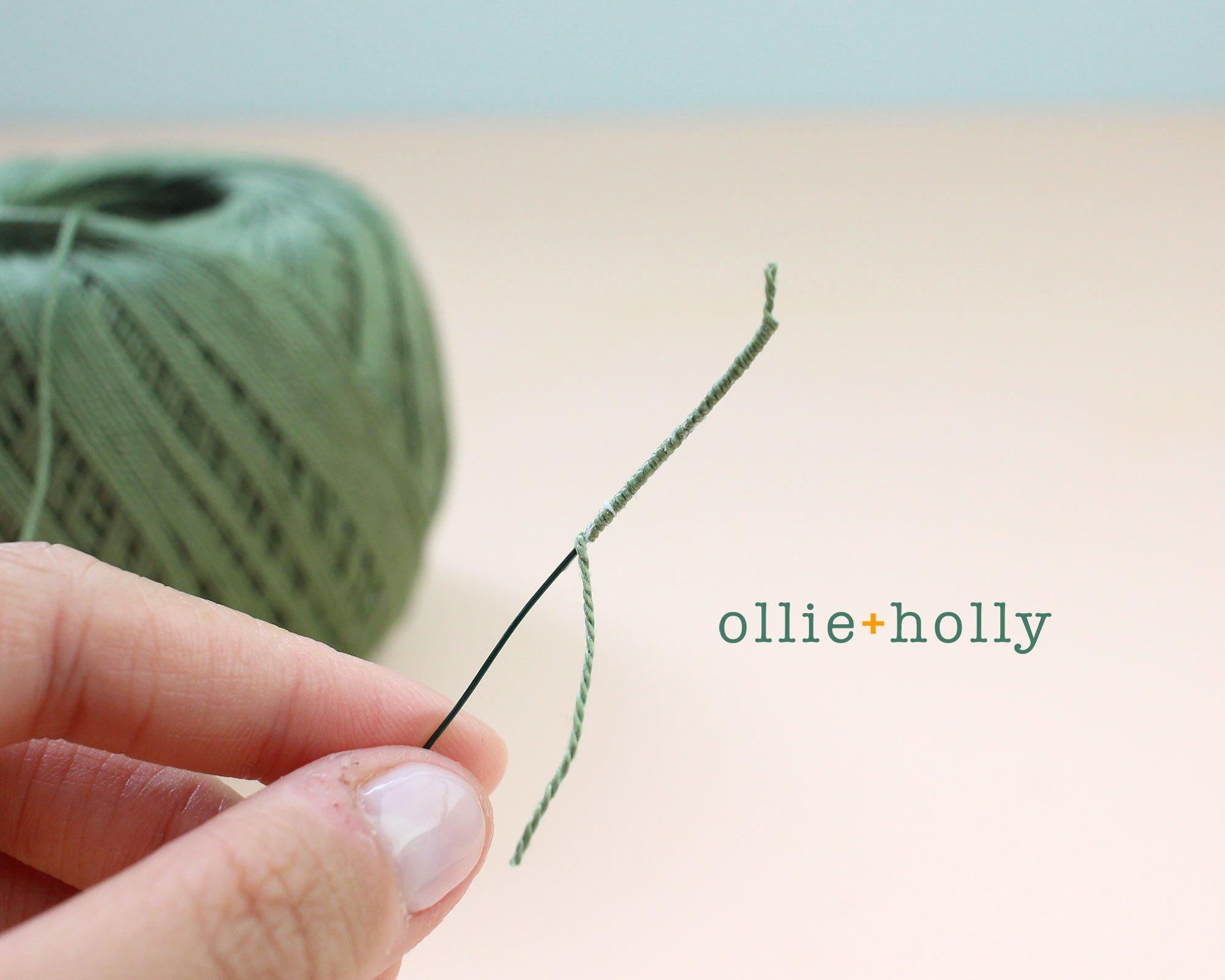 Free Billy Balls Flower Crochet Pattern Step 3