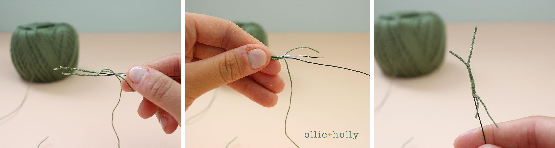 Free Billy Balls Flower Crochet Pattern Step 4