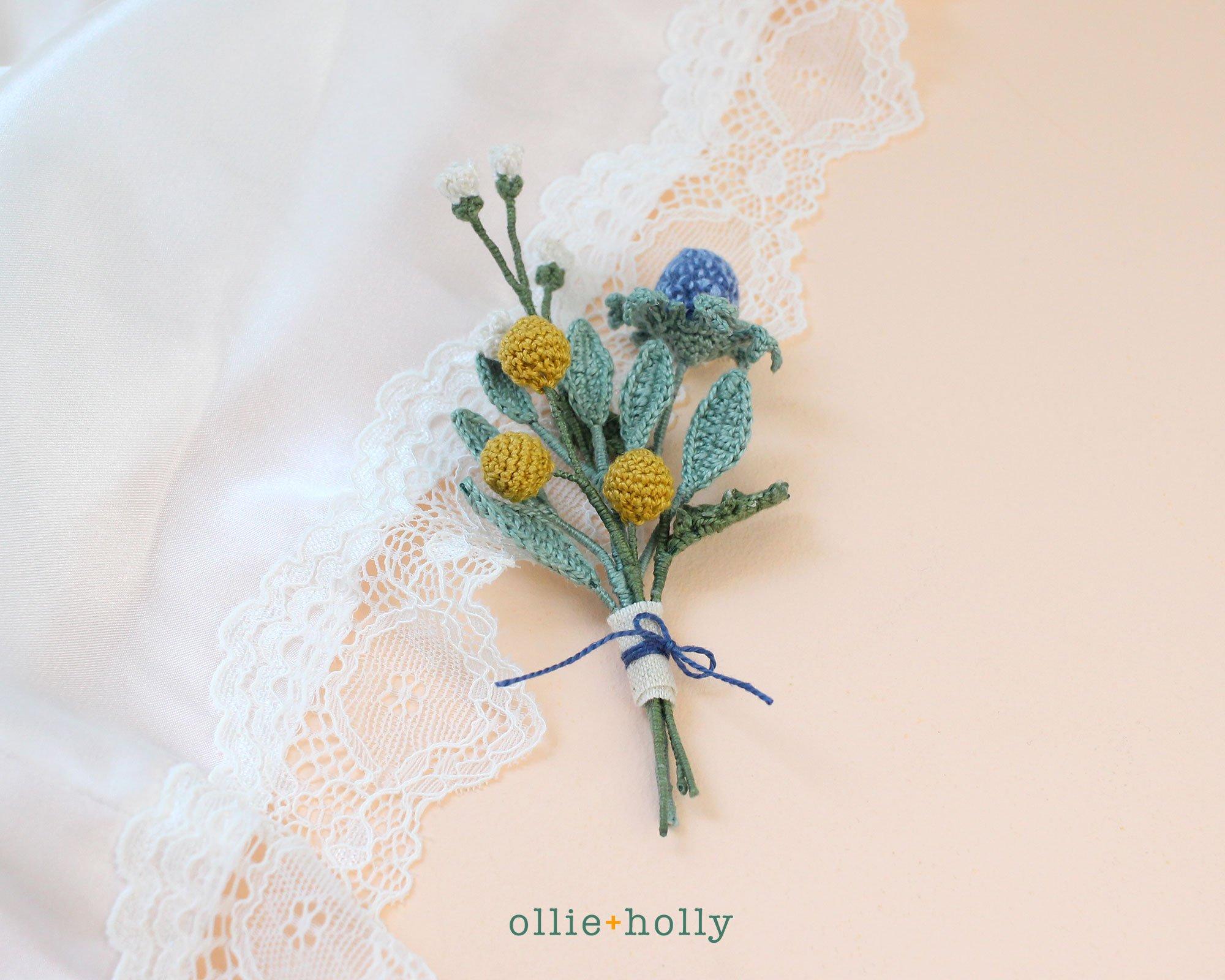 Free Eucalyptus Leaf Crochet Pattern